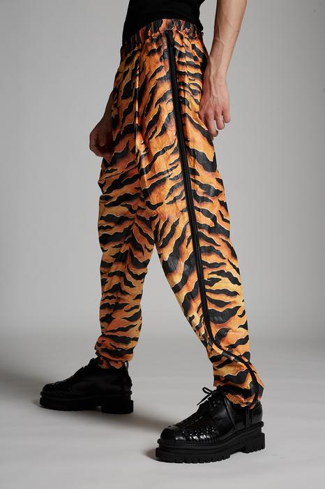 DSQUARED2 Uomo Pantalone Arancione Taglia 54 100% Polietilene