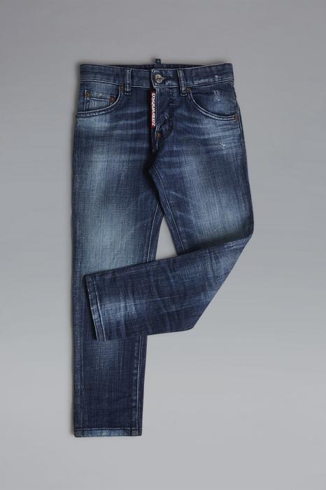 DSQUARED2 Uomo 5 pockets Blu Taglia 16 98% Cotone 2% Elastan