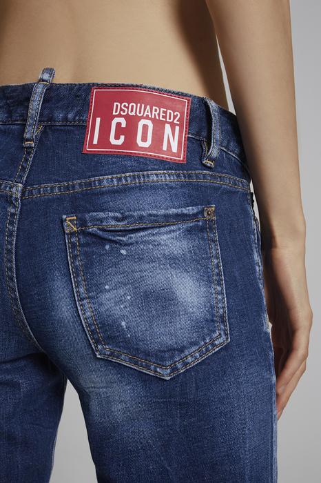 DSQUARED2 Donna 5 pockets Blu Taglia 46 99% Cotone 1% Elastan