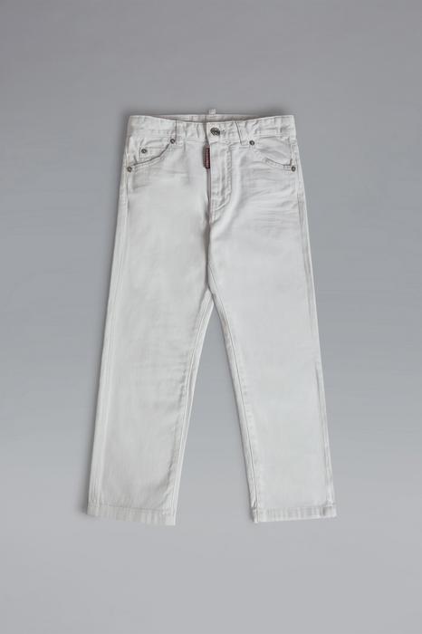 DSQUARED2 Donna 5 pockets Bianco Taglia 16 98% Cotone 2% Elastan