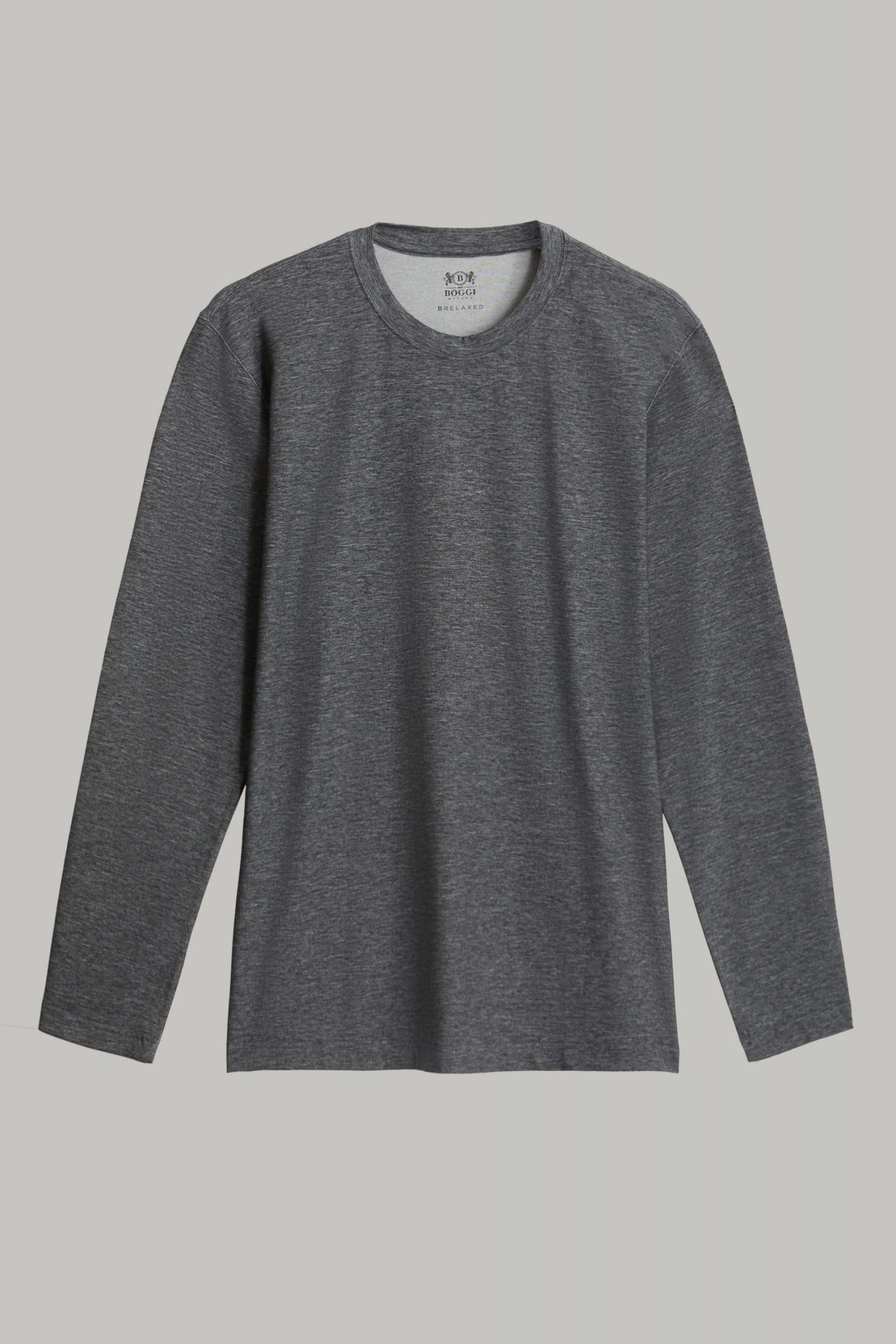 T-Shirts da uomo in colore Antracite in materiale