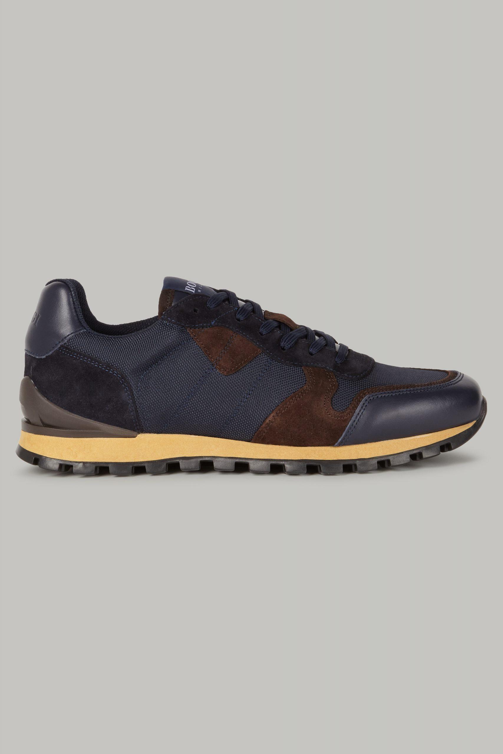 Scarpe Classiche da uomo in colore Navy in materiale