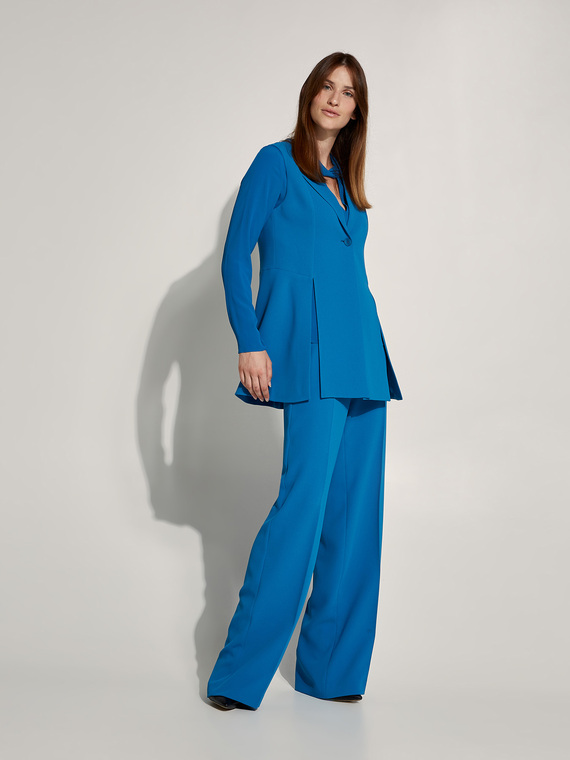 Caractere New season preview Blu - Caractère Pantaloni palazzo tailor made Donna Blu