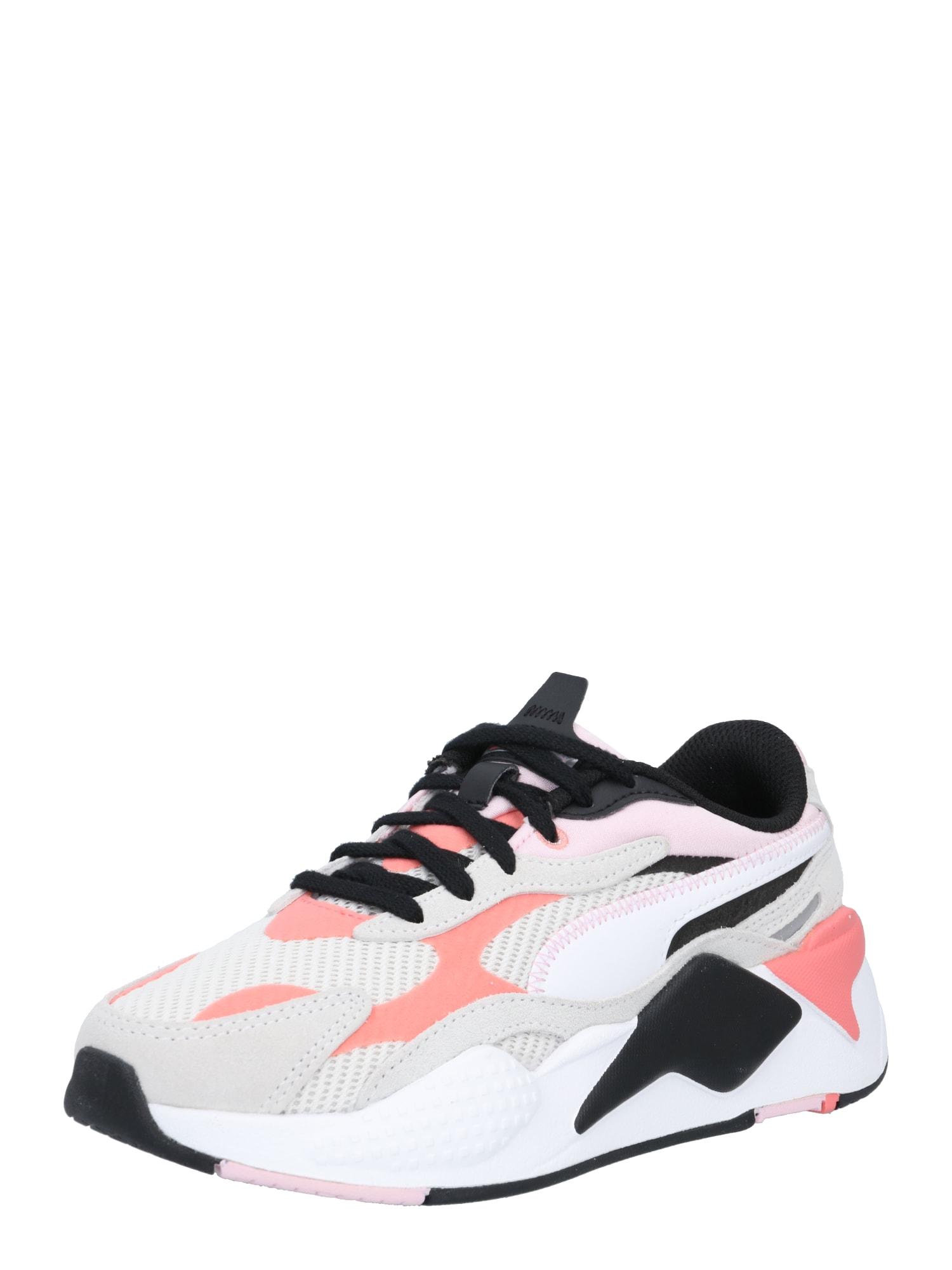 PUMA Sneaker bassa  grigio chiaro / corallo / bianco / nero / rosa male shop the look