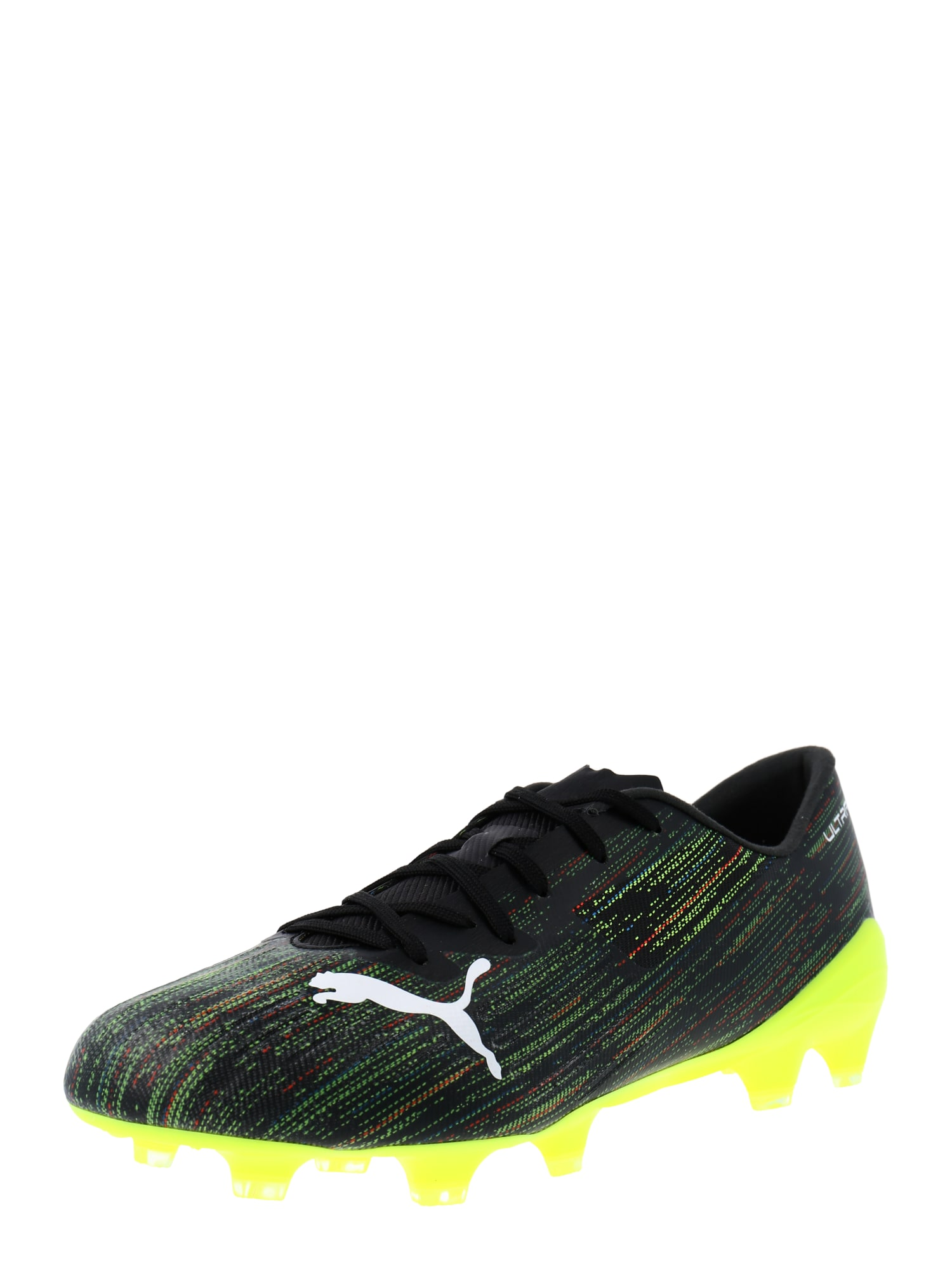 PUMA Scarpa da calcio 'Ultra 2.2'  nero / bianco / verde neon male shop the look