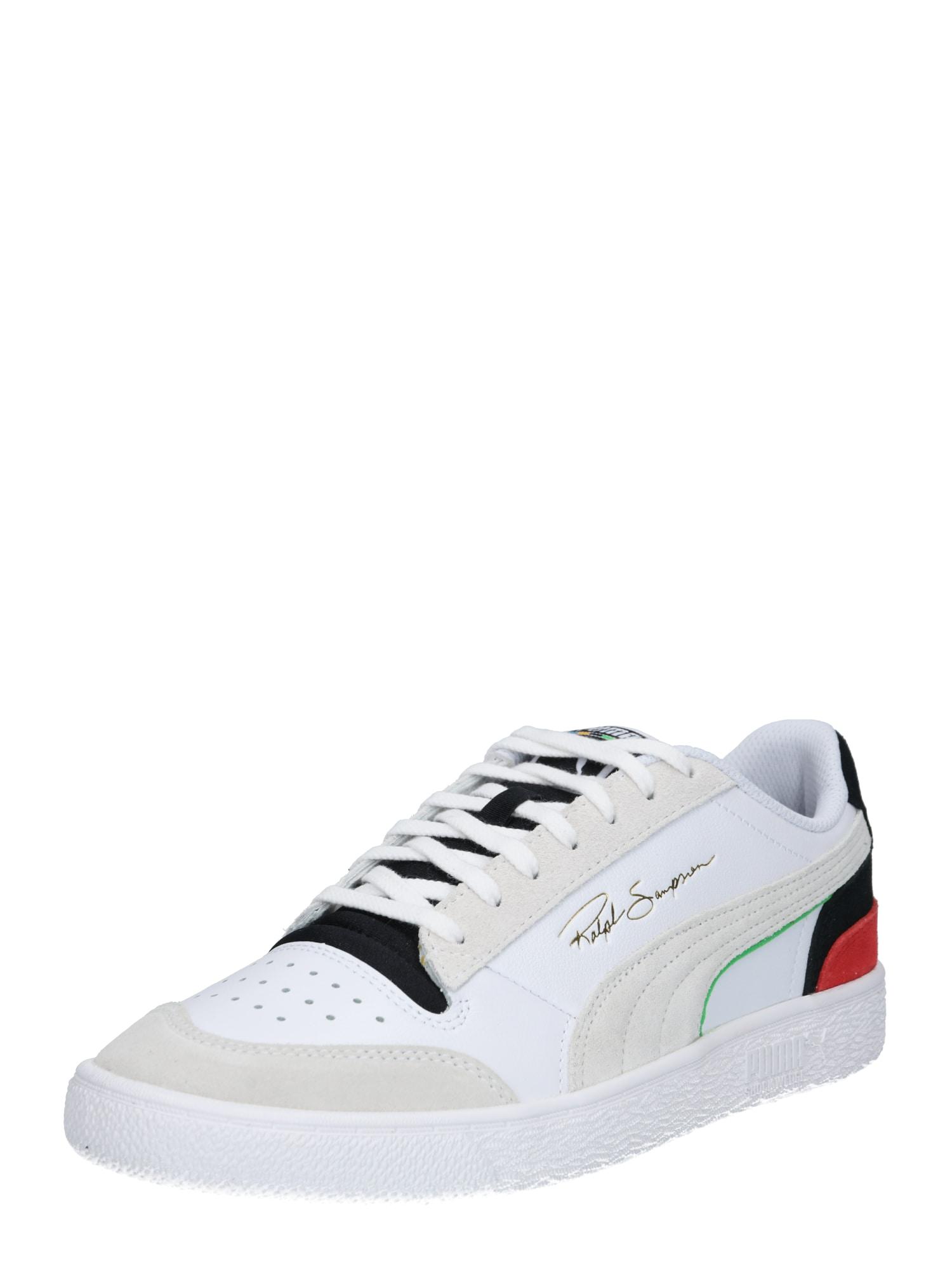 PUMA Sneaker bassa 'Ralph Sampson'  rosso / blu / bianco / beige / nero male shop the look