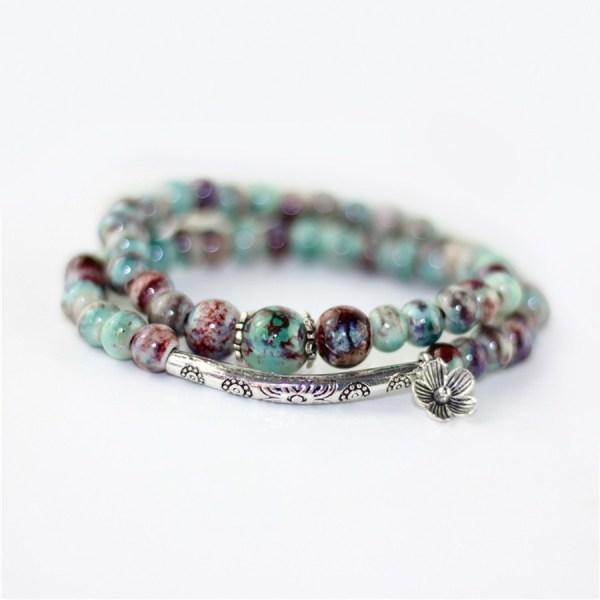 Ceramic Charm Bracelet