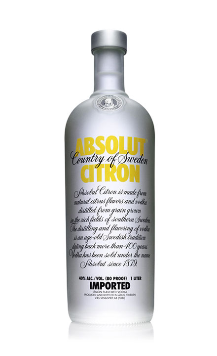 ruou vodka Absolut Citrong