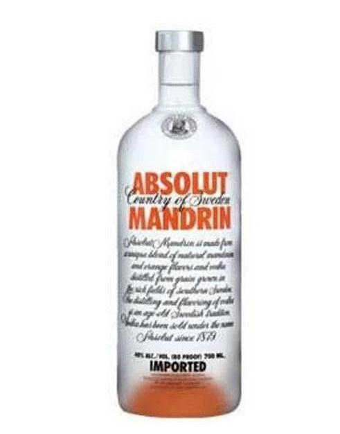 Rượu Vodka Absolut Mandrin