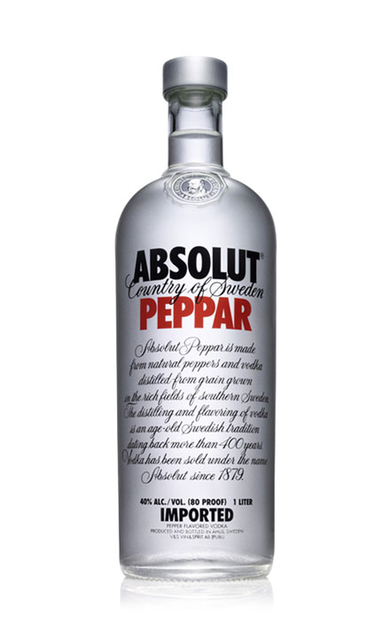 ruou vodka Absolut PEPPA
