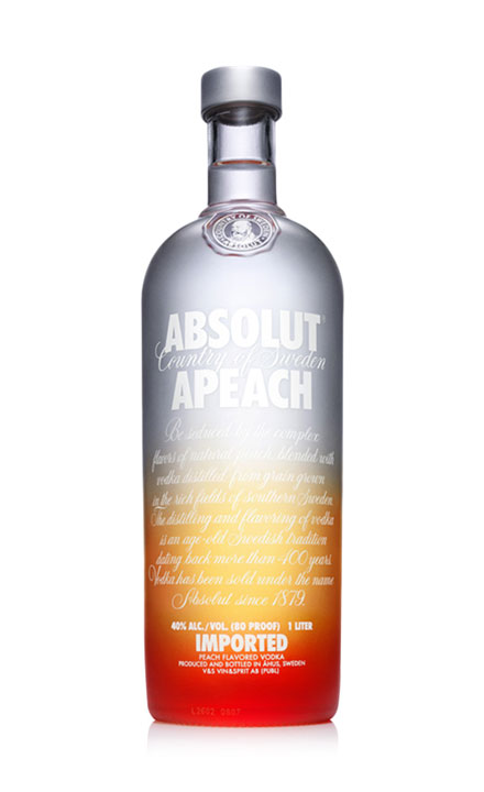 ruou vodka absolut Apeach