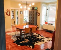 Layered Cowhide Rugs | Tigertree