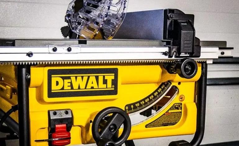 Dewalt Dw745 Blade Alignment