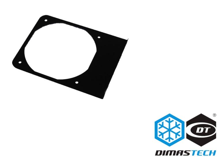 DimasTech® Lateral Fan 120 Graphite Black