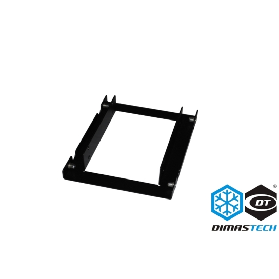 DimasTech® Dual Ssd Adapter Support Black