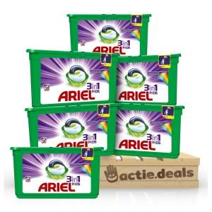 Ariel 3-in-1 Pods Colour & Style - halfjaarbox 210 wasbeurten