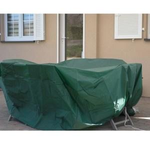 Tuinmeubelhoes - Ronde tafel - Beschermt tegen vocht en vuil