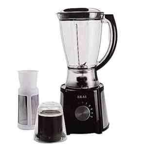 Blender with Filter & Mill – 1.5 Litre Black