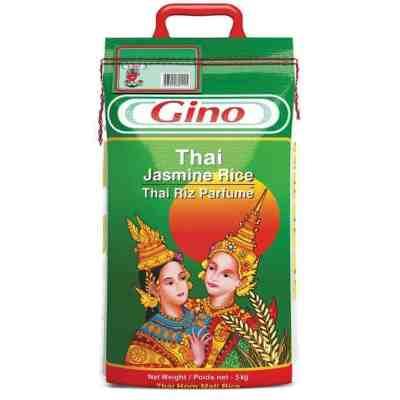Gino thai jasmine perfume rice 5kg ghana
