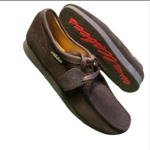 Wallabees Coffee Suede Shoe