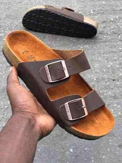 Birkenstocks Double Strap Brown