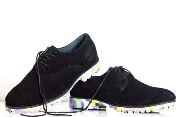 Timberland Multicolor Oxford Suede Shoe
