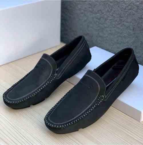 Clarks Leather Black Loafer