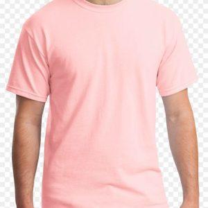 Peach Gildan Plain T-Shirt