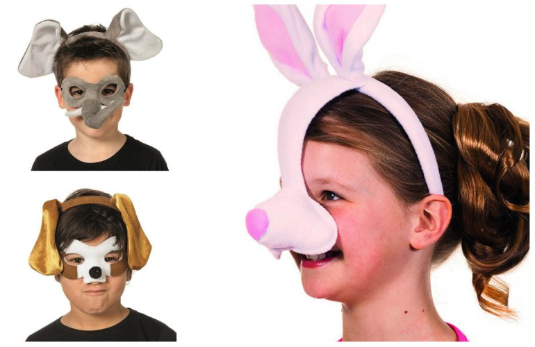 fastelavnsmaske dyremaske til børn billigt fastelavnskostume kostume på udslag billig fastelavnsmaske til børn