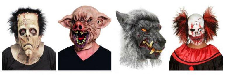 halloween maske fastelavnsmaske uhyggelig maske uhyggelig klovnemaske uhyggelig halloween maske - Maske til fastelavn eller maskebal