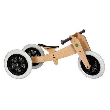 3 i1 wishbone bike natur gåcykel - Gåcykel - cykel til 1 årig