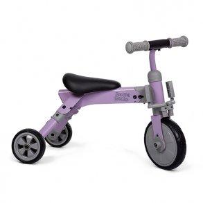 MaMaMeMo trehjulet cykel 2 i 1 gåcykel aluminium lilla - Gåcykel - cykel til 1 årig