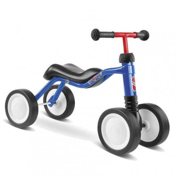 Puky Wutsch min foerste cykel blå gåcykel 4 hjul 600x600 - Gåcykel - cykel til 1 årig