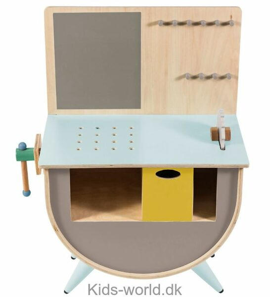 arbejdsbænk til børn børneværksted værktøjsbænk til børn sebra arbejdsbænk gave til 2 årig dreng gave til 3 årig dreng