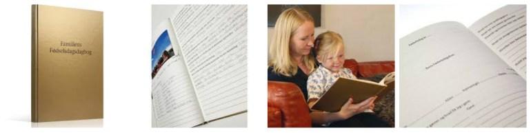 familiens fødselsdagsdagbog tradition skaber barndomsminder shopwise anekdoter børnefødselsdag familietraditioner fra generation til generation fødselsdag - Familiens Fødselsdagsdagbog