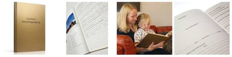 familiens fødselsdagsdagbog tradition skaber barndomsminder shopwise anekdoter børnefødselsdag familietraditioner fra generation til generation fødselsdag