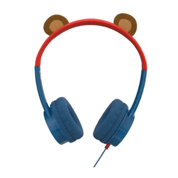 høretelefoner til børn drenge headset til børn øre høretelefoner til børn blå høretelefoner til børn little rockerz hørebøffer bjørneøre høretelefoner