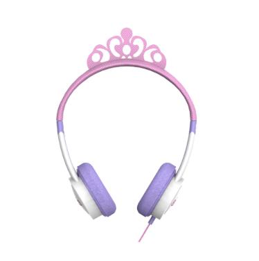 høretelefoner til børn prinsesse headset til børn pink høretelefoner til børn lyserøde høretelefoner til børn little rockerz hørebøffer diadem høretelefoner.jpg - Guide til høretelefoner til børn