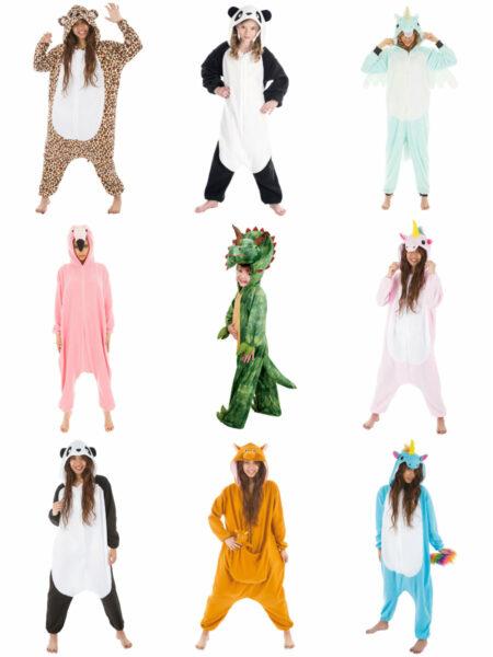 kigurumi heldragt hjemmedragt til kvinder plysdyr heldragt slap af tøj shopwise fastelavnskostume varmt fastelavnskostume kostume til voksne 450x600 - Kigurumi heldragt - kostume og slap af tøj i ét