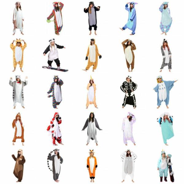 kigurumi heldragt hjemmedragt til kvinder plysdyr heldragt slap af tøj shopwise fastelavnskostume varmt fastelavnskostume kostume til voksne heldragt til børn kostume til børn slapaf tøj til børn 600x600 - Kigurumi heldragt - kostume og slap af tøj i ét