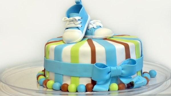 Babyshower kage