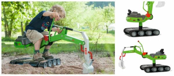 gravko larvefødder gravko til børn gravko legetøj 600x264 - Gravemaskine til børn