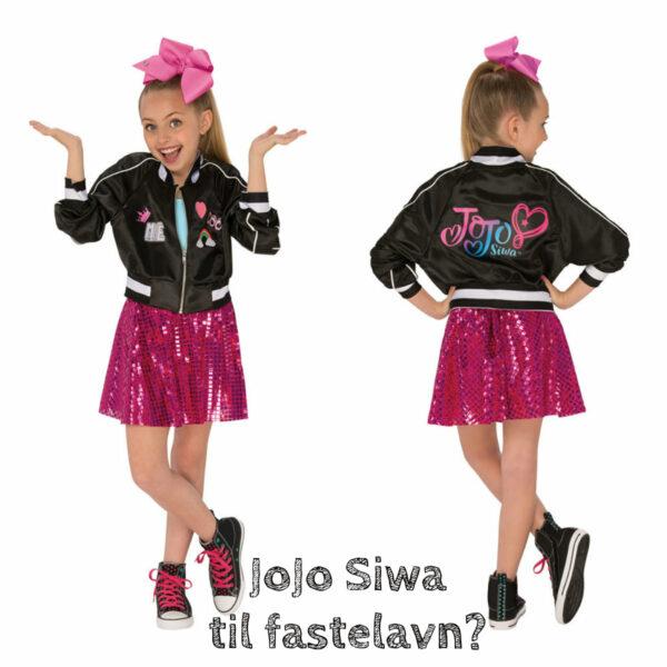 jojo siwa kostume til piger jojo siwa børnekostume jojo siwa fastelavnstæj jojo siwa klæd-ud tøj jojo siwa nickeledeon kostume