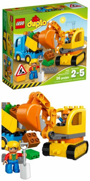 lego 10812 lego med gravko lego gravemaskine og lastbil lego legetøj med gravko gravemaskiner legetøj entreprenør maskiner