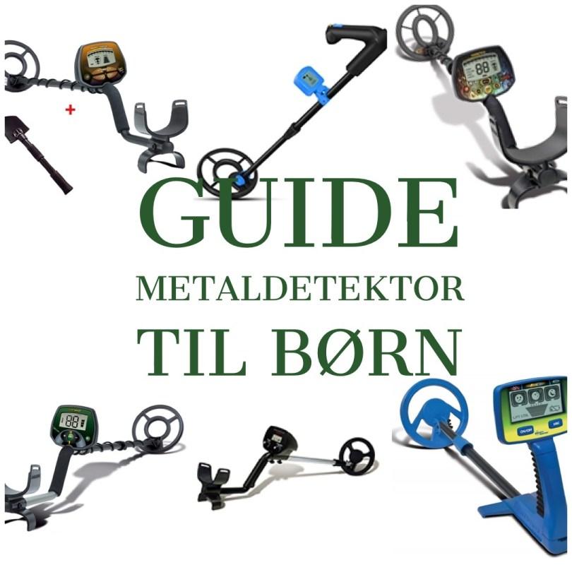 guide til metaldetektor til børn