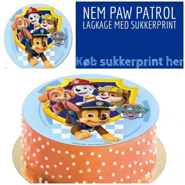 C3A39205 1FB1 447D BBE2 887609B40D6A 600x600 - Nem Paw Patrol kage til Paw Patrol fødselsdag