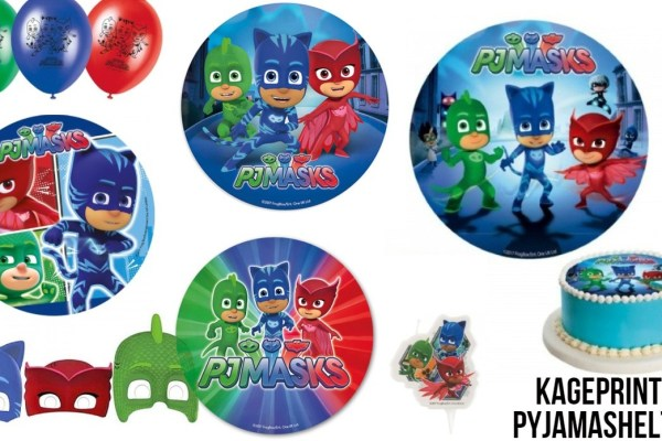 PJ Masks – Pyjamasheltene fødselsdag