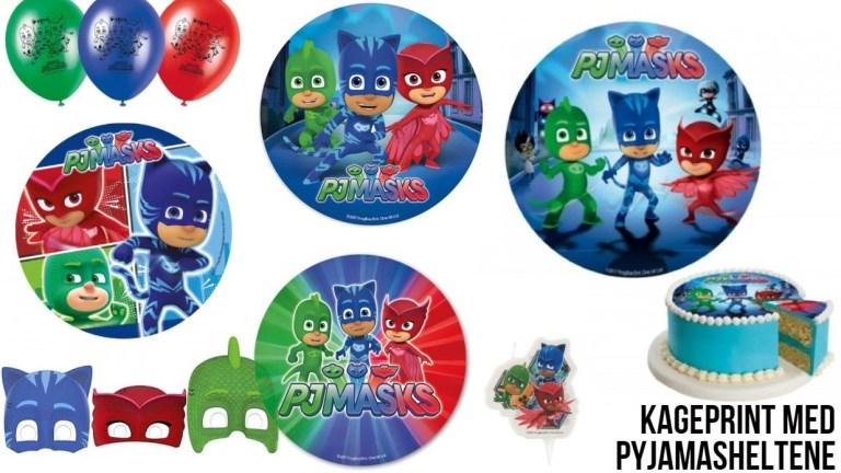pyjamasheltene fødselsdag pj masks fødselsdag pyamasheltene kageprint sukkerprint PJ masks nem pj masks kage pyjamasheltene kageprint