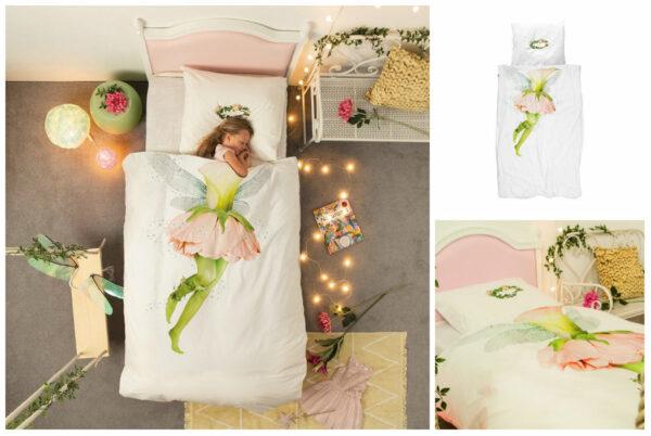 snurk fe sengetøj snurk fe sengetøj voksendyne fairy sengetøj juniordyne fe sengetøj 600x402 - Snurk sengetøj