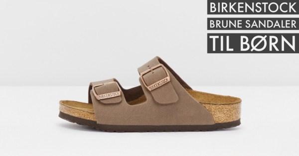 brune birkenstock sandaler til drenge